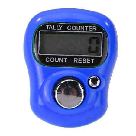 Lady Dee's Maschenzähler, Reihenzähler, Counter - blue